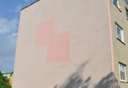 Kalda 5, Keila korterelamu fassaadi otsaseinte soojustamine ja krohvimine