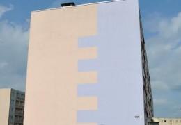 Luha 13, Keila korterelamu fassaadi otsaseinte soojustamine,krohvimine ja parapetiplekkide paigaldamine