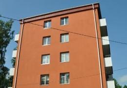 Mustamäe tee 128, Tallinn –korterelamu otsaseinte soojustamine ja krohvimine