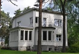 Tallinn, Pärnu mnt 169, eramu fassaadi renoveerimine, tuulekasti ja vihmavee süsteemide paigadamine