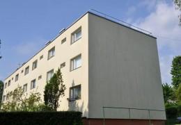 Tiiru 4, Keila korterelamu fassaadi soojustamine, krohvimine ja parapetiplekkide paigaldamine