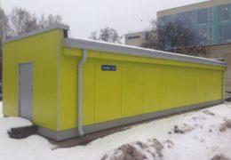 Tallinna Vesi AS  veepumpla fassaadi renoveerimine ja vihmaveesüsteemide paigaldamine
